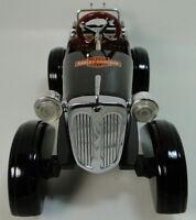 Pedal Car 1920 Ford Pickup Truck Vintage Black Metal Collector >READ DESCRIPTION