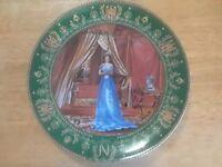 De Limoges Josephine Et Napoleon Series 'Le Souvenir' Josephine Plate  LD 795