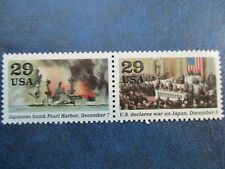 Pearl Harbor 50th anniversary USPS stamps  #2559ij