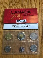 2015 Canada Brilliant Uncirculated set - featuring the classic coin designs!