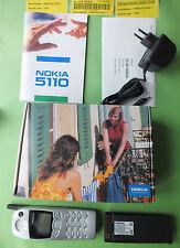 Original Nokia 5110 SILBER SILVER Handy NEU NEW OVP Autotelefon KULT Rarität MB