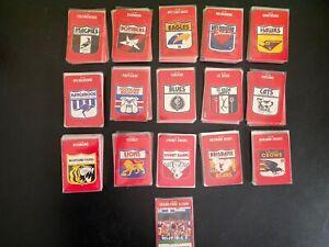 Vintage AFL Trading Card x160 mix lot stimorol 1991 football VFL