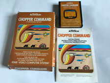 Chopper Command / Boxed With Instructions / Atari 2600 Tested 7800