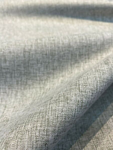 Gray Linen Blackout 54 inch Fabric By the yard no light passes through