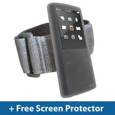 Clear Skin Case + Armband for Sony Walkman NWZ-E453 NWZ-E455 Silicone Holder