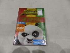 KUNG FU PANDA 3-MOVIE COLLECTION DVD+DIGITAL HD NEW