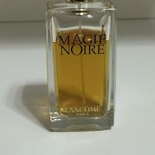 Lancome Magie Noire 2.5oz 75ml EDT Women Perfume 90% Full As Is