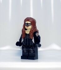 A1294 Lego CUSTOM PRINTED Flash cw INSPIRED BLACK SIREN MINIFIG Canary Arrow