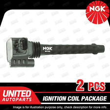 2 x NGK Premium Quality Ignition Coils Pack for Fiat 500 T2 U5156