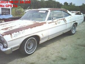 Roof 2 Door HT Excluding LTD Fits 67 FORD PASS. 677570