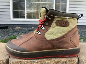 Women's Keen Elsa II Waterproof Insulated Hiking Boots Size 9.5
