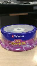 Verbatim(R) 95484 8.5GB Dual-Layer DVD+Rs (15-ct Spindle)