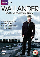 Wallander Complete 2nd Series Dvd Kenneth Branagh Brand New & Factory Sealed