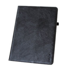 Cuero Funda para iPad de Apple PRO 12.9 Bolsa iPad Tableta Smart carcasa Negro
