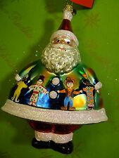 Christopher Radko Merry Maximus Yellowstone Academy Glass Ornament