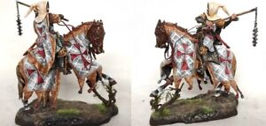 Tin toy soldiers ELITE painted 54 mm knight medieval