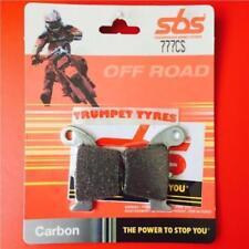 Pastillas de freno SBS color principal negro para motos Honda