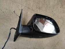 For AUDI Q5 8R Q7 4L 2010-2015 Wing Mirror Cover Metallic Black Cap RH Passenger