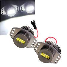 128W CREE LED Angel Eye Halo Ring Bulbs Lights Fits E90 E70 Halogen X5 BRIGHTEST