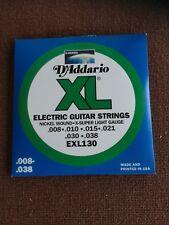 SET 4 MUTE DADDARIO EXL 130   nickel wound Corde per chitarra elettrica