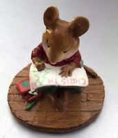 Wee Forest Folk M-208 Struggling Artist- CHRISTMAS - US Seller, Ships same day