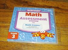 Math Assessment System with Math Center Grade 3 Site License Version