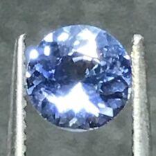 Natural 0.84 Carat Blue Sapphire 6mm Round Genuine Loose Gemstone Ceylon