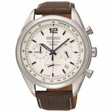 Genuine Leather Strap Sport Polished Wristwatches