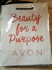 """Avon """"Beauty For A Purpose"""" gift bags 10 count Avon Business Supplies"""