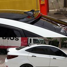 Rear Wing Roof Spoiler Painted Parts For Hyundai Accent 2011 2015
