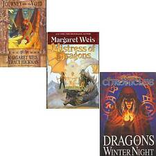LOT 3 Margaret Weis DRAGONS WINTERS NIGHT MISTRESS JOURNEY VOID Hickman W2