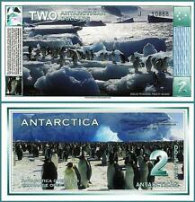 ANTARCTICA 2 DOLLARS 1996 (2009) UNCIRCULATED PENGUIN NEW