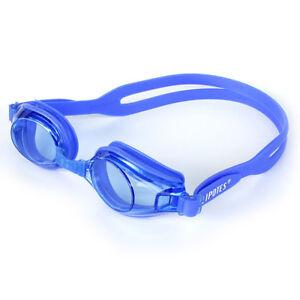 UV Triathlon Unbrand PC Anti-fog Swim Protect Silicone Goggles Glasses 301F-Blue