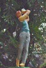 Golfer Miniature Figurine 1/24 Scale G Scale Diorama Accessory Item