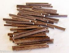 """N Scale 50 Pieces Very Beautifully Customed Detailed Logs Real Wood 2-1/4"""" +-"""