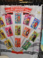 Mego 70's Worlds Greatest Super Hero Action Figure Shower Curtain Batman  DC
