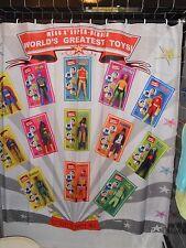 Mego 70's Worlds Greatest Super Hero Action Figure Shower Curtain Batman  DC