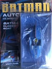 Batman Automobilia, Classic TV Series Boat. Eaglemoss #24