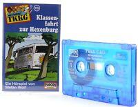 TKKG 116  Klassenfahrt zur Hexenburg Hörspiel  MC blau Kassette Europa logo -