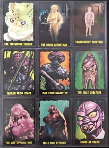 1964 OUTER LIMITS TRADING CARDS ORIGINAL COMPLETE SET 50/50 NM MINT