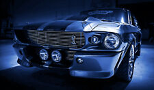 Ford Mustang Shelby Cobra 1967 GT500 Eleanor (4) OVER 1 METER WIDE Poster!