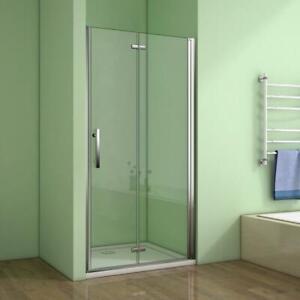 70-120cm Duschabtrennung Duschwand Falttür Nischentür NANO-GLAS Duschkabine