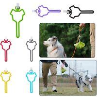 Hundekot Taschenhalter Dispenser Einfach zu bedienender Freisprech-Halter Tool