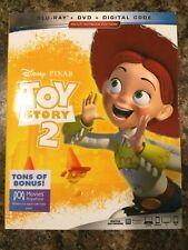 Toy Story 2 1999 (Blu-ray + Dvd) Including Slipcover Disney Pixar 2019 Edition