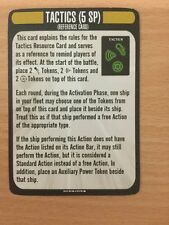 Star Trek Attack Wing The Voyager Op Event The Void Tactics Reference Card