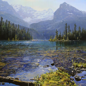 Summer Lagoon by Richard Mravik Open Edition Canvas