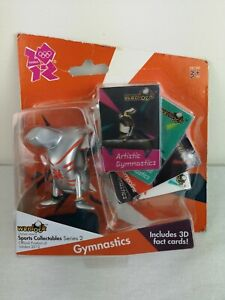 London 2012 Olympic Mascot Wenlock Collectable Gymnastic Sports Figure