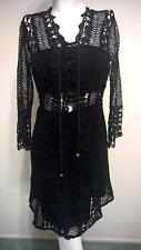 LADIES DOTTI SIZE 6 BLACK AMAZING LACE DRESS  NEW WITH TAG RRP $129.95