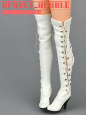 1/6 Female Shoes Over The Knee High Heel Boots For Hot Toys Phicen SHIP FROM USA