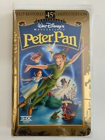 Peter Pan (VHS) Disney - Anniversary Collection. NEW & Unopened